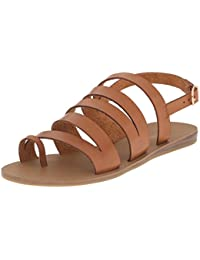 Madden Girl Women's Fonduee Flat Sandal
