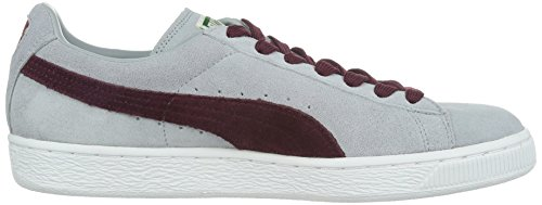 Puma Suede Classic+ , Baskets Mode Mixte Adulte, Rouge Gris (Quarry/Zinfandel)