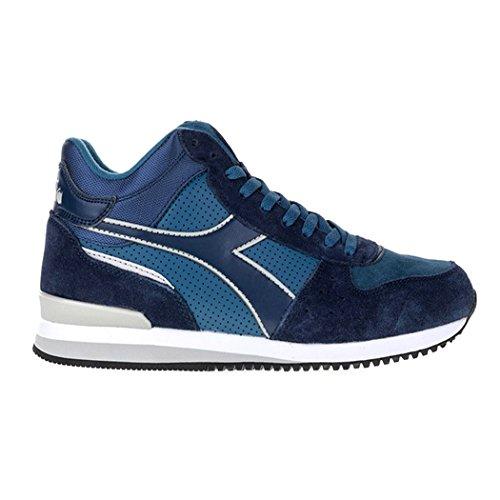 Diadora Malone Mid S, Blue Men's Low Neck Sneaker