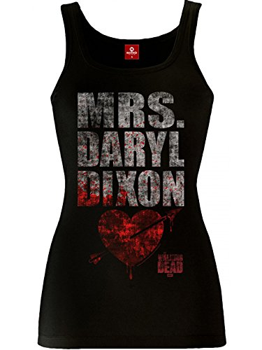 The Walking Dead The Walking Mrs, Dixon femmina Top black nero Medium