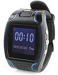 Incutex GPS Tracker Uhr TK107 Armbanduhr SOS Ortungsgerät Version 2017
