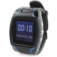 Incutex - Reloj localizador GPS Tracker TK107 - Dispositivo rastreador - Botón SOS