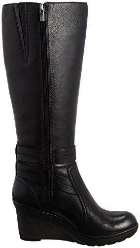 Clarks Casual Clarks T-Shirt Natira Kae Gtx-Stiefel aus Leder In Schwarz Schwarz