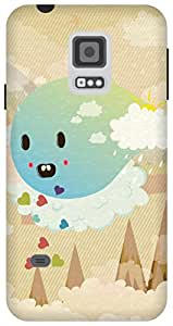 The Racoon Grip Cuteness Overload hard plastic printed back case/cover for Samsung Galaxy S5 Mini