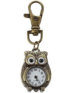 SODIAL(R)Schluesselanhaenger Uhr