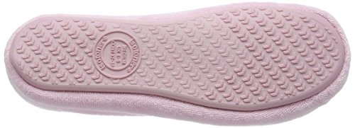Isotoner - Isotoner Terry Ballet Slipper With Spot Bow, Pantofole Donna Rosa (Rosa (Pink))