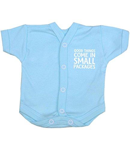 4fa8f85fd BabyPrem Premature Baby Bodysuit Vest NICU Neonatal Boy Girl Clothes AQUA P2