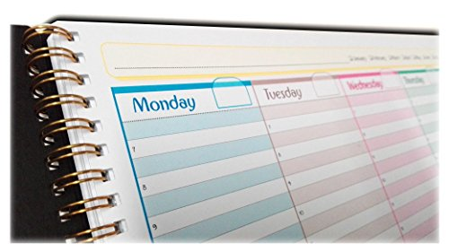 Weekly Planner Pad A3 42x30cm, 54 sheets with strong wire binding (english version)