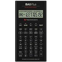 Texas Instruments TI BA II Plus Professional–Calculadora financiera 10Character (S)–LCD–funciona con pilas iibapro/CLM/4L1/A