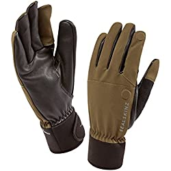 SealSkinz 121142630020 Gants de Chasse Olive, FR : M (Taille Fabricant : M)