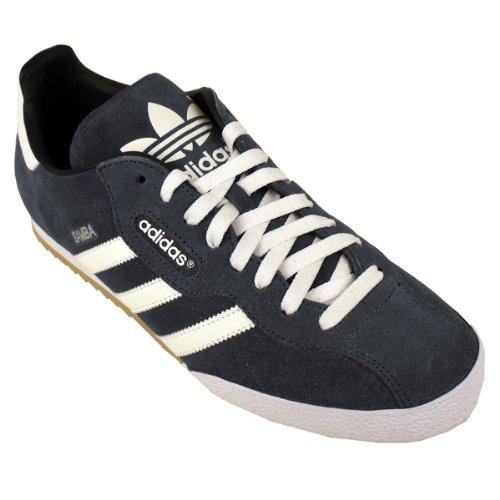6fd67a06d2ea7 Adidas Originals Samba Super Suede Trainer Blue Leather Trainers Shoe  019332 8