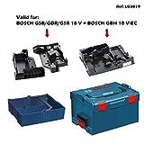 BOSCH L-Boxx 238 + Einlage GBH 18 V-EC + 2 x Einlage GSB/GDR/GSR 18 V + Einhängekorb