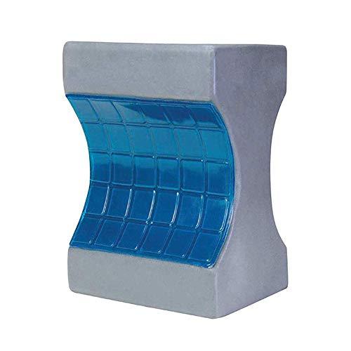 SHKY Cooling Kniepolster, Gel Memory Foam-Beinpolster zum Schlafen, gegen Ischias, Rückenschmerzen, Beinschmerzen, Schwangerschaft, Hüft- und Gelenkschmerzen