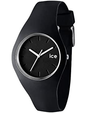 Ice-Watch Unisex-Armbanduhr Ice-Slim schwarz ICE.BK.U.S.12