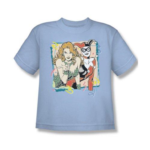 Dc - Jugend Völlig Harvey & Ivy-T-Shirt Light Blue