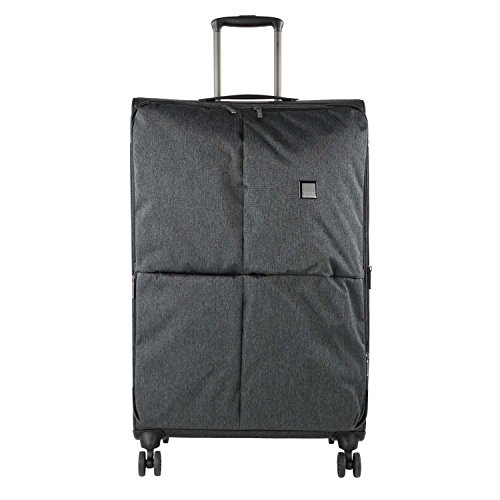 """TITAN Valise trolley """"Square"""" avec 4 roues anthracite Koffer, 68 cm, 87 liters, Schwarz (Anthracite)"""
