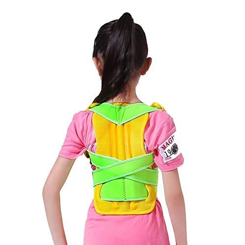 Summer Back-Support für Kinder, die eine auflesbare Aufsichtskorrektur zur Verhinderung von Hunchback-Support-Grün,M