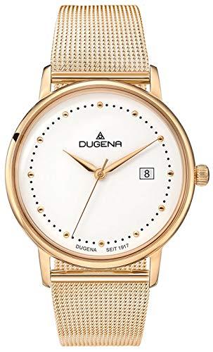 Dugena Reloj Analógico para Mujer de Cuarzo con Correa en Acero Inoxidable 4460791-MB03