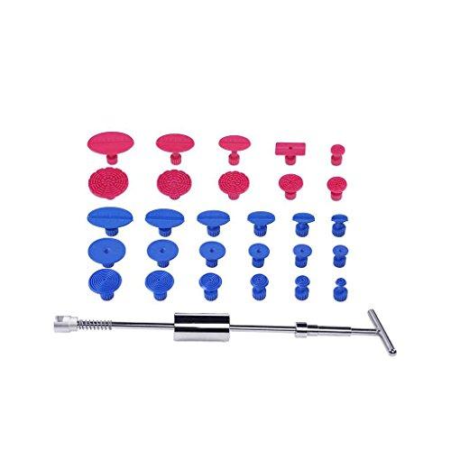 Preisvergleich Produktbild Meisijia PDR Dent Lifter Slide Hammer 29 stücke PDR Handwerkzeuge Paintless Dent Reparatur Werkzeuge Dent Puller Dent Tabs