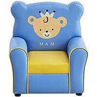 Preisvergleich für ALUK- small stool Kinder Sessel Cute Cartoon Kindergarten Spiel Stuhl Sofa Sitz L55cm * W41cm * H60cm