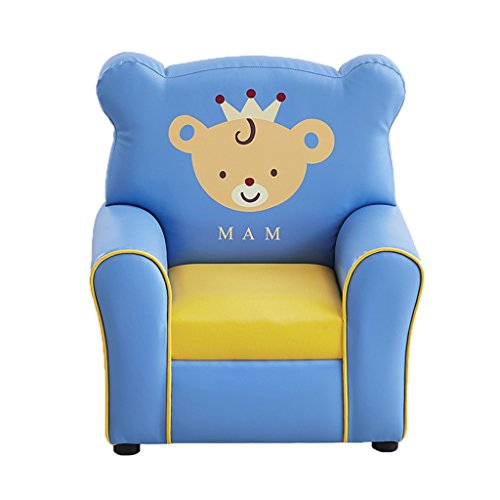 ALUK- small stool Sillón para niños Cute Cartoon Kindergarten Juego Silla Sofá Asiento L55cm * W41cm * H60cm