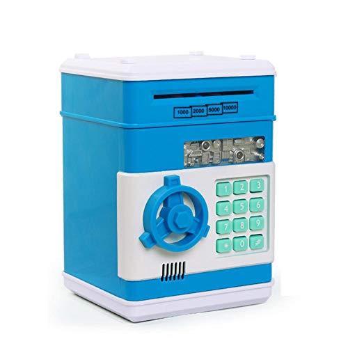 Nrkin Elektronische Piggy Banks Mini ATM Elektronische Münze Bank Münzbox mit Zwei Sound-Schaltern für Kinder Spaß Spielzeug -