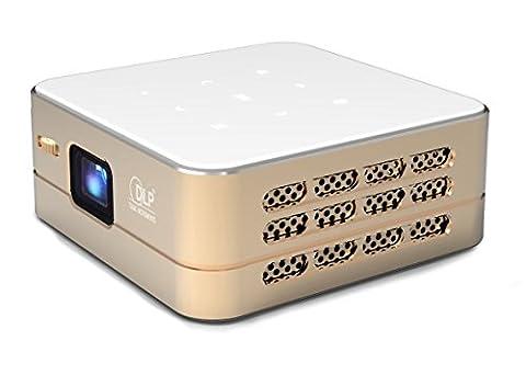 [Nouveau] Mini Projecteur WiFi VPRO1 Android - Pico Videoprojecteur Haute Résolution avec Wifi, Bluetooth, USB et HDMi - Home Cinéma de