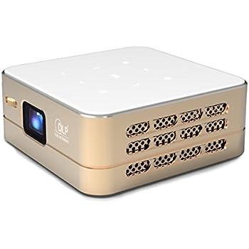 [Nouveau] Mini Projecteur WiFi VPRO1 Android - Pico Videoprojecteur Haute Résolution avec Wifi, Bluetooth, USB et HDMi - Home Cinéma de poche