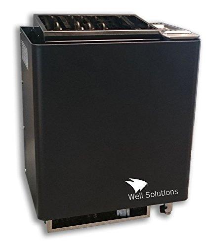 Well Solutions Bio Mat Premium Kombi Saunaofen 6 kW inkl. Saunasteinen Original Well Solutions Ofen für Biosauna - Made in Germany