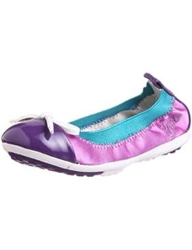 GEOX Junior Mädchen Ballerina J PIUMABAL F-Satin Purple J11B0F01202C8000 ( )