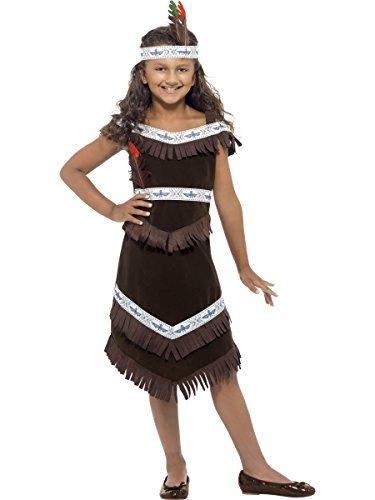 Fancy Me - niño Niña cheroquis jefe indio americano pilaou un disfraz de vaquero Western Disfraz Vaquero