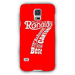 EYP Manchester United Ronaldo Back Cover Case for Samsung S5