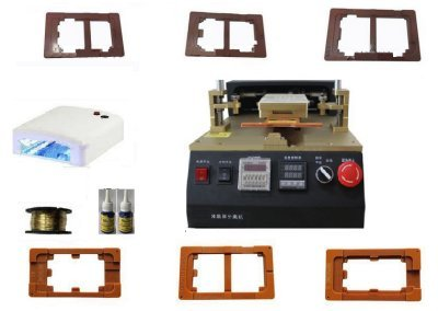 GOWE Semi Automatic LCD Separator with Built in Air Vacuum Pump for LCD Separate Assembly -