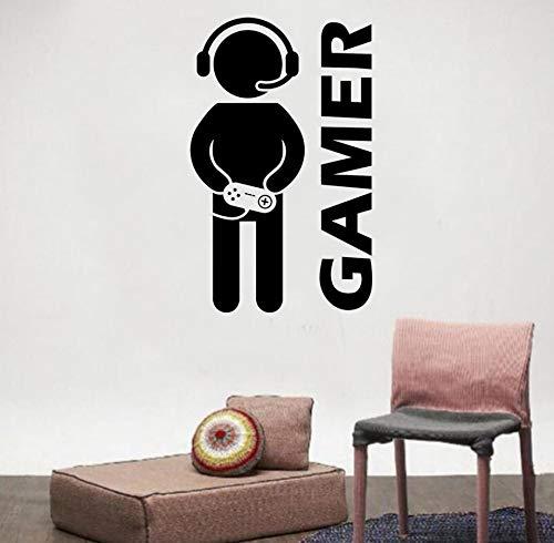Pvc Spiel Video Wanddekoration Wandaufkleber Zimmer Aufkleber Junge Dekoration Gamer Geschenk Tapete Spaß Zimmer Spielen Spiel Familie Diy
