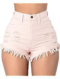 Amazon Rosa Donna Pantaloncini it Abbigliamento rXXOnq8Aw