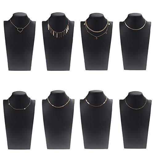 DAMAX Choker Halskette Set Baumeln Halsband mit Anhänger für Mädchen Frauen (8 Stück/Set)