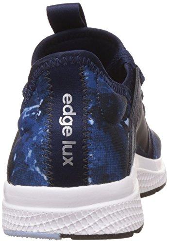 adidas Damen Edge Lux W Laufschuhe collegiate navy/framas light blue/easy blue s17