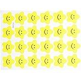 MagiDeal 240x Emoji Autocollant étoile Souriant étiquette Récompense Décor Artisanat Jouets Bricolage
