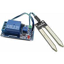 Sensore di umidità del suolo di 5V Sensore di rilevamento del modulo del sensore Sensore dell'acqua che irriga automaticamente