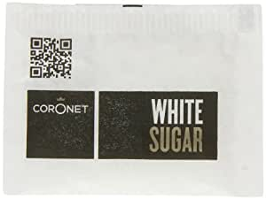 Coronet White Sugar Sachets (Pack of 1, Total 1000 Sachets)