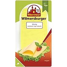 Wilmersburger Scheiben Würzig - 150 g laktosefreier, veganer Käse