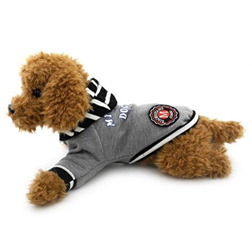 Winter Hoodies Sweatshirts Baumwolle kleiner Hund Katze Jacke Mantel mit Kapuze Haustier Herbst Frühling Kleidung Bekleidung (Halloween-kostüme Tragen, Um Zu Arbeiten)