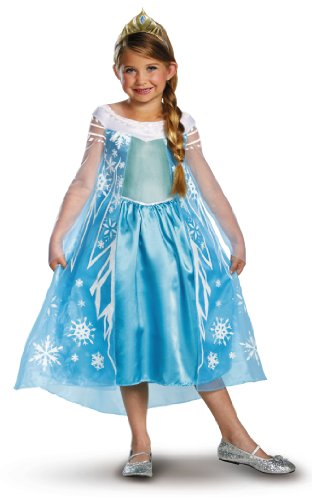 Disney Eisprinzssin Frozen Elsa Kostüm Größe (Elsa Kostüme Adult Frozen)