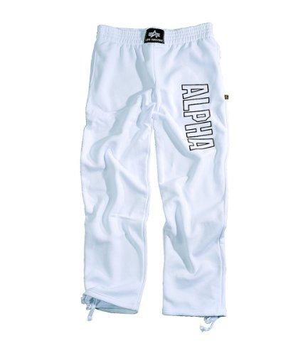 Alpha Industries Jogginghose Track Pant, Color:white;Größe:M