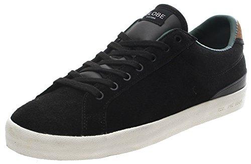 Globe status Nero/antico scarpe (UK11)