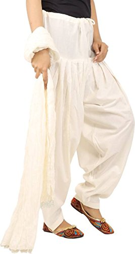 JAIPUR FASHION HUB Women's/Girl's Super quality 100% Pure Cotton Solid Full Patiala...