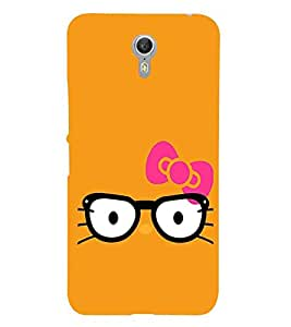 For Lenovo ZUK Z1 Big spectacles, cat Printed Cell Phone Cases, kitten Mobile Phone Cases ( Cell Phone Accessories ), specs Designer Art Pouch Pouches Covers, girl Customized Cases & Covers, cute Smart Phone Covers , Phone Back Case Covers By Cover Dunia
