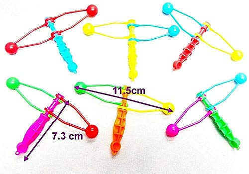 7,3 cm Mini Clickers Clackers Strumpf Spielzeug Geburtstag Party Tasche Favor Filler ()