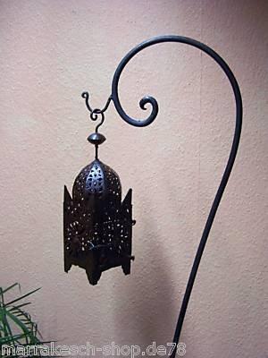 Marrokanische Eisenlaterne Frane 51cm von Marrakesch auf Du und dein Garten