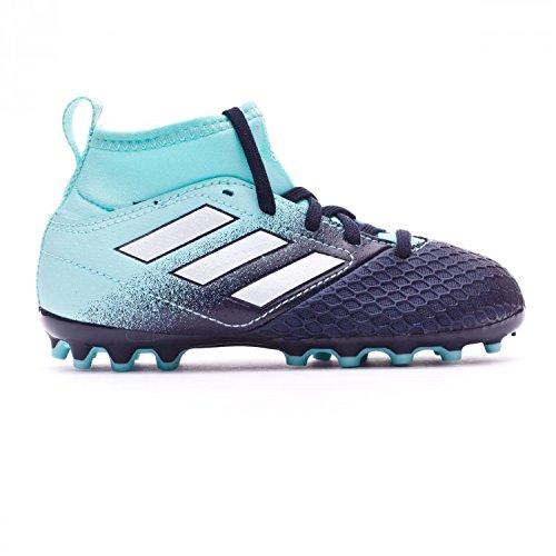 adidas Ace 17.3 Ag, Zapatillas de Fútbol Unisex Niños, Azul (Energy Aqua/Footwear White/Legend Ink), 37 1/3 EU